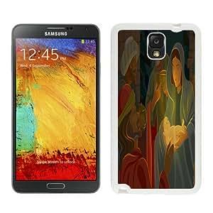 2014 Newest Jesus christmas White Samsung Galaxy Note 3 Case 1