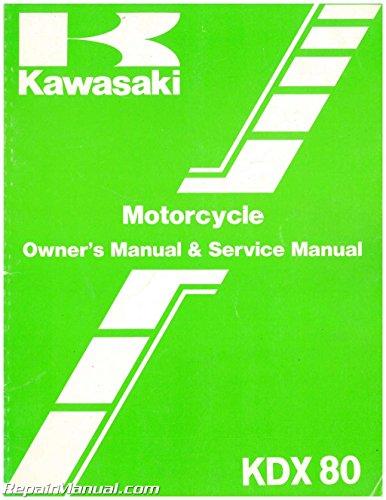 U99920-1293-01 Used 1985 Kawasaki KDX80 C2 Motorcycle Owners Service Manual ()