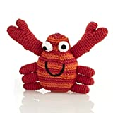 Red Crab Rattle by Pebble | Crab Rattle, Baby rattle, Toddler rattle | Helping women out of poverty and putting smiles on faces worldwide