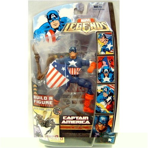 Hasbro Brood Queen Series Captain America Action Figure Marvel Legends Marvel Heroes Series 3