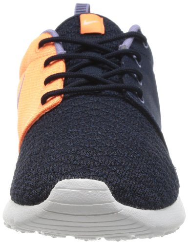 Homme Dark Nike Basses Rosherun Baskets Obsidian Obsidian Orange Dark atomic Orange Multicolore qHSt8wxH