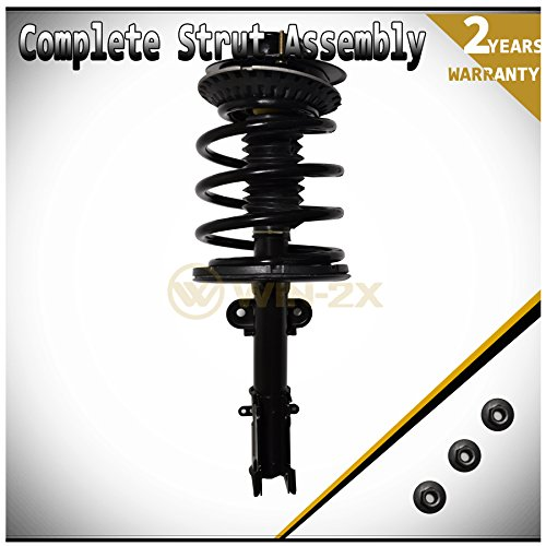 Price comparison product image WIN-2X New 1pc Front Left or Right Side Quick Complete Suspension Strut Shock Coil Spring Assembly Kit Fit 01-07 Chrysler Town & Country 01-03 Voyager 01-07 Dodge Caravan / Grand Caravan