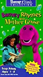 Barney Rhymes With Mother Goose [VHS]