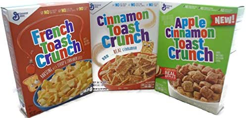 Breakfast Cereal: Cinnamon Toast Crunch