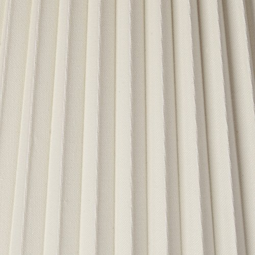 Ivory Pleated Shade 10x17x14.75 (Spider) by Brentwood (Image #3)