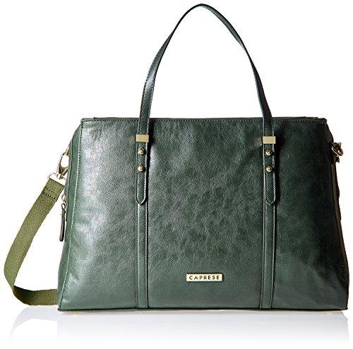 Caprese Women's Satchel (Dark Green)