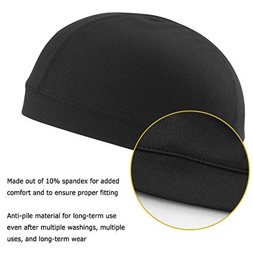 Sport Skull Cap Breathable Beanie Cycling Sweatband Helmet Liner For Running