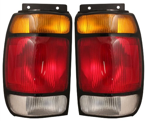 EAGLE EYES PAIR SET RIGHT & LEFT REAR/BACK TAIL LIGHTS TAILLIGHTS TAIL LAMPS ... - Back Lamp