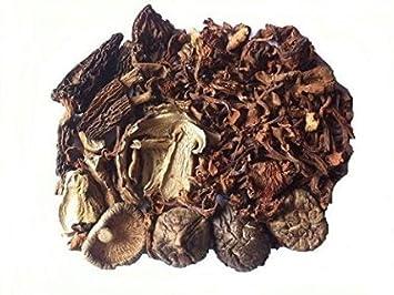 Medley Dried 4 Mushroom Premium Grade 720 Gram: Amazon com