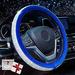 Crystal Diamond Steering Wheel Cover