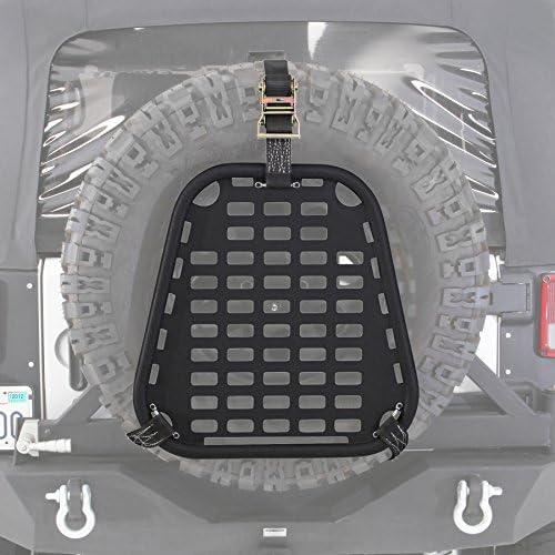 Universal Fit Spare Tire Platform Base for Jeeps Cars SUVs Smittybilt 2739 I-Rack2 Intelligent Rack