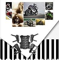 ZHY Armadura de Ropa Protectora Motocicleta Gear Juego de ...