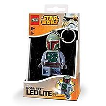 Lego Star Wars Boba Fett LED Key Light Keychain