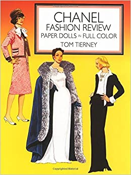Book Chanel Fashion Review Paper Dolls (Dover Paper Dolls) by Tom Tierney (1986-05-01)