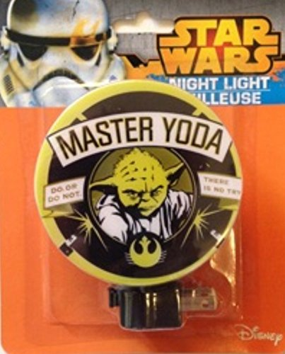 Cheap Children Character Themed Night Lights (Yoda)