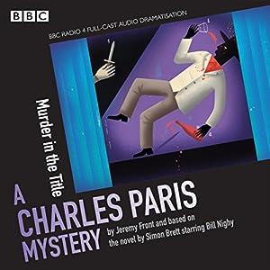 Charles Paris: Murder in the Title Radio/TV