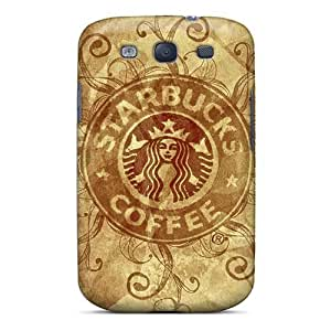 New Phonedecor Super Strong Starbucks Coffee Tpu Case Cover For Galaxy S3