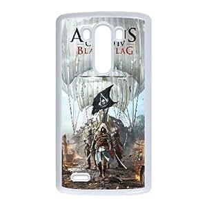 Assassins Creed Black Flag LG G3 Cell Phone Case White present pp001_9642596