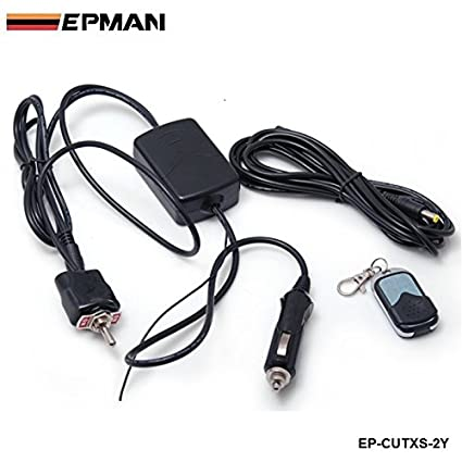 amazon com epman wireless remote control and toggle switch foramazon com epman wireless remote control and toggle switch for exhaust muffler electric valve cutout system dump automotive