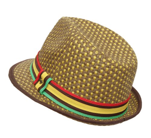 Peter Grimm Headwear Men's JAH Love Trilby Hat by Peter Grimm (Image #2)