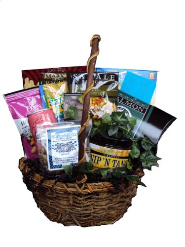 Men's Healthy Gift Basket by Well Baskets