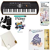Homeschool Music - Learn to Play the Piano Pack (Classical Themes Book Bundle) - Includes Casio SA76 Keyboard w/Adapter, learn 2 Play DVD/Book, Books & All Inclusive Learning Essentials