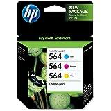 HP 564 Ink Cartridge in Retail Packagings- Combo Pack