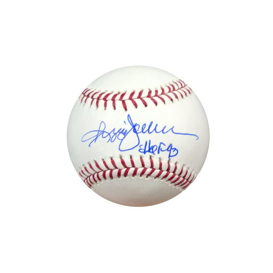 "REGGIE JACKSON AUTOGRAPHED OFFICIAL MLB BASEBALL NEW YORK YANKEES""HOF 93"" PSA/DNA STOCK #1110"