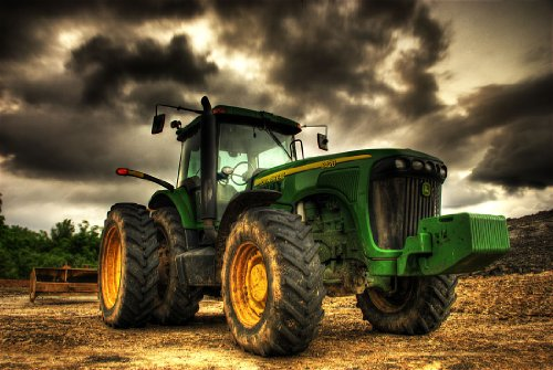 John Deere - CANVAS OR WALL ART PRINT ()