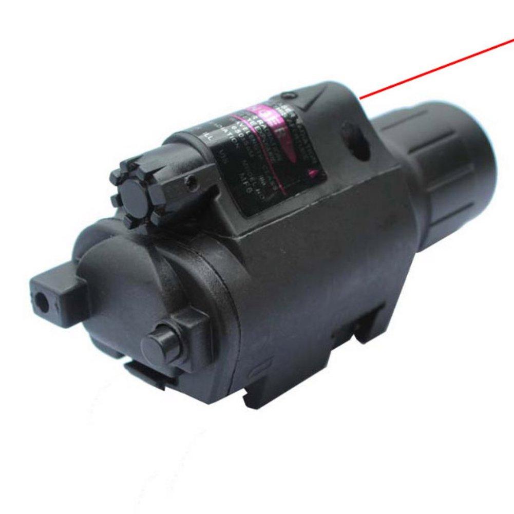 Etopfashion Laser LED Antorcha Linterna Compact Rail Mount para Pistola Pistola Verde Rojo Punto Sight Pistola Tactical Sights Airsoft Outdoor Toy Niños Adulto Cool Equipment