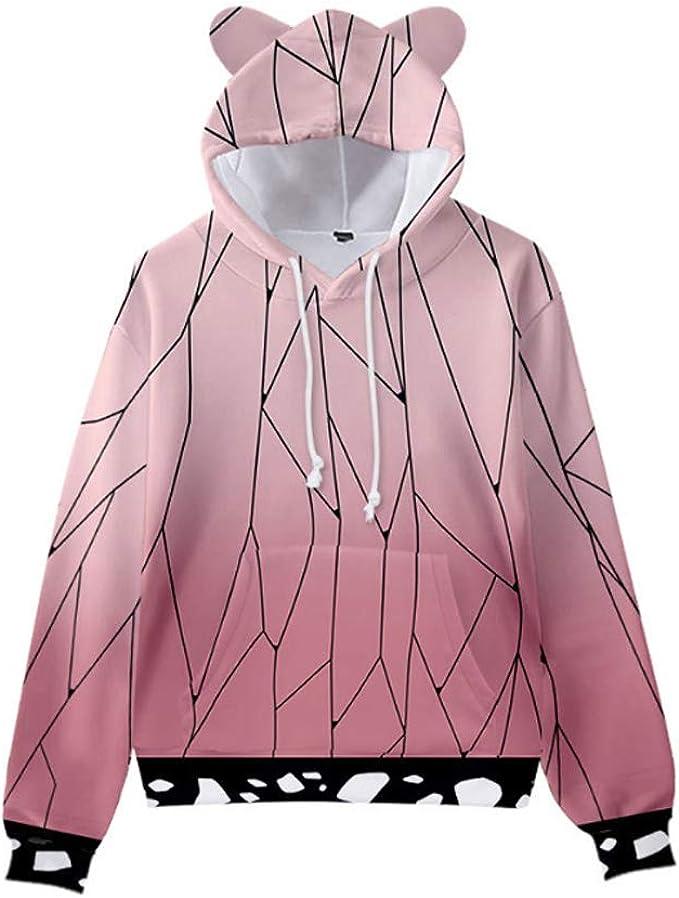 Details about  /7 Style Demon Slayer Hoodie Child Cosplay Costume Jacket Coat Casual Sweatshirt