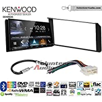 Volunteer Audio Kenwood DDX9904S Double Din Radio Install Kit with Apple CarPlay Android Auto Bluetooth Fits 1995-2002 Silverado, Sierra