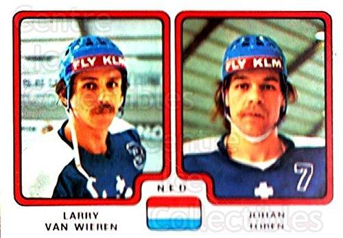 Toren Van - (CI) Larry Van Wieren, Johan Toren Hockey Card 1979 Panini Stickers 279 Larry Van Wieren, Johan Toren