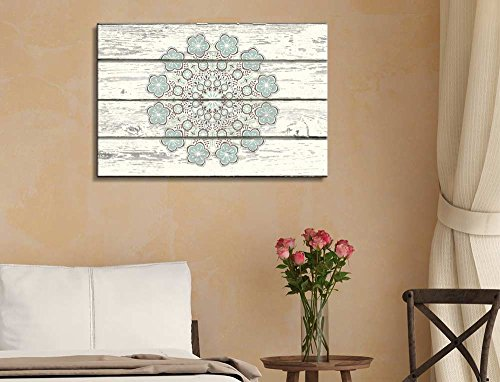 Decorative Patterned Art with Flowers
