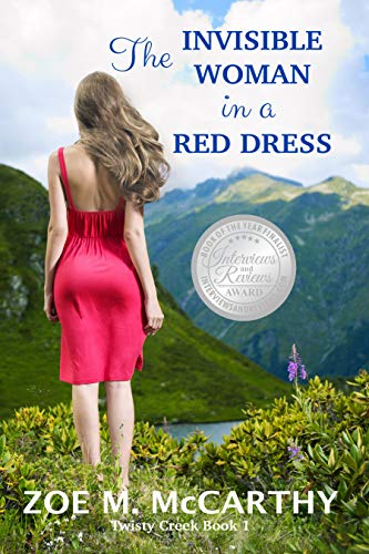 The Invisible Woman in a  Red Dress (Twisty Creek Book -
