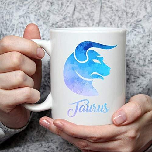 (Taurus Mug - Zodiac Sign Coffee Mug Perfect Gift for Star Lovers)