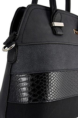 Classic Style Bowling Satchel Handbag Rigid Leather Ladies Women Scarf Bag Bugatti Taupe Multicolor Black Croco Snake David Shoulder Handle Top Faux Brown City Elegant Jones Nubuck Bag Bag Stripes n6gxX4