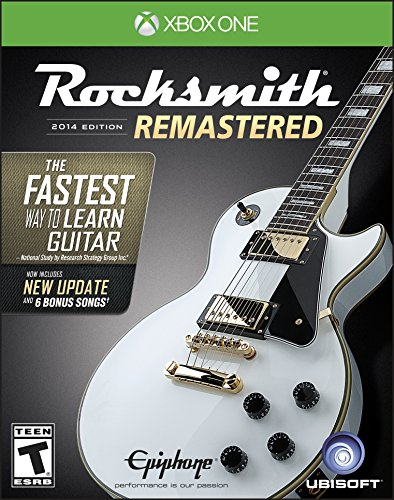 Rocksmith 2014 Edition Remastered - Xbox One Standard Edition (Best Bass Riffs To Learn)