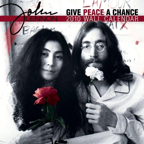 John Lennon Peace 2010 Wall Calendar ()