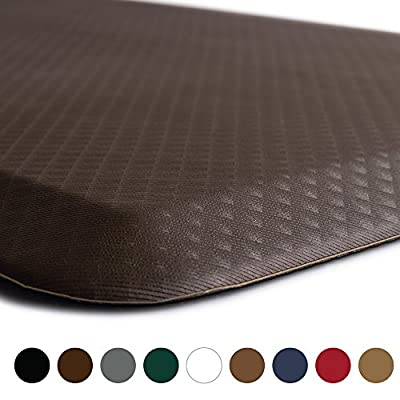 "The Original 3/4"" KANGAROO (TM) Non-Slip Anti-Fatigue Comfort Mat, Ergonomically Engineered, Non-Toxic, Waterproof"