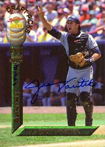 (1994 Signature Rookies Jason Varitek Certified Autograph Baseball Card - Only 7,750 made!)