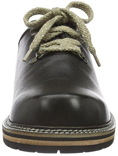 Stockerpoint Schuh 6082, Scarpe Stringate Uomo Nero (Schwarz (Schwarz Nappa))
