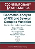 img - for Geometric Analysis Of PDE And Several Complex Variables: Dedicated To Francois Treves (Contemporary Mathematics) book / textbook / text book