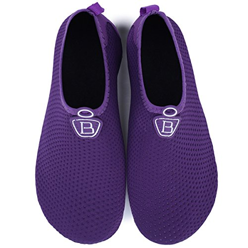 Purple Anti Boys Barerun Sneaker Walkers Kids Girls Canvas Dark Shoes Slip Baby First xAgx7