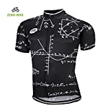 ZEROBIKE® Men's Breathable Short Sleeve Cycling Jersey Mountain Clothing Suit Quick Dry
