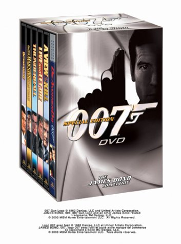The James Bond Collection, boxed set (Special Edition) by MGM Home Entertainment