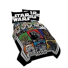 Star Wars Microfiber 4 Piece Full Sheet Set