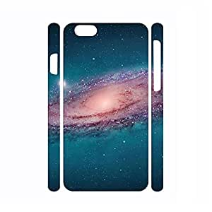 Beautiful Dustproof Galaxy Pattern Hard Plastic Phone Shell for Iphone 6 Plus Case - 5.5 Inch