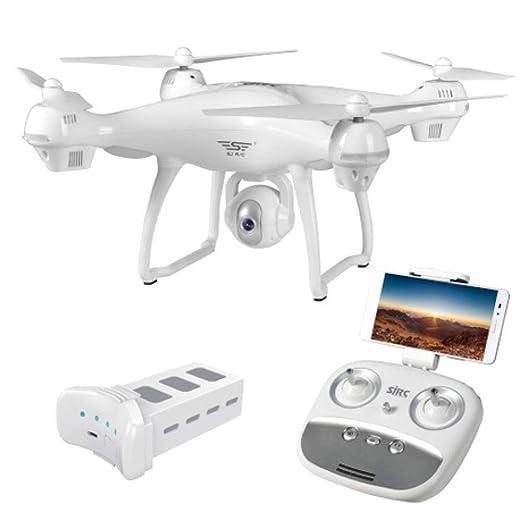 Rwdacfs Drones Seguidor GPS automático, Quadcopter con cámara HD ...