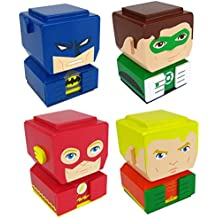 Entertainment Earth Justice League Tiki Totem (Set 4)